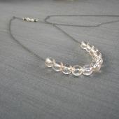 """Колье """"That necklace"""" из серебра с хрусталём"""