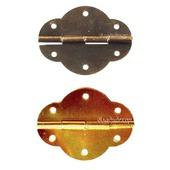 Петли шарнир шкатулок М-217 бронза золото фурнитура