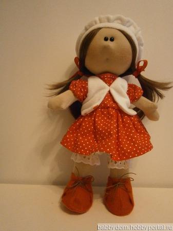 Кукла большеголовка ручной работы на заказ