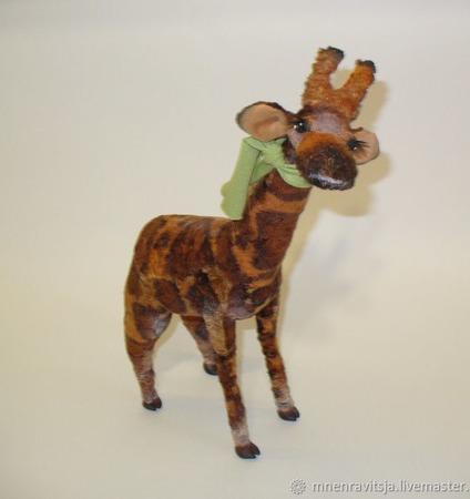 Жираф Пит ручной работы на заказ