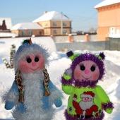 Новогодние куколки - Декабрина и Январина