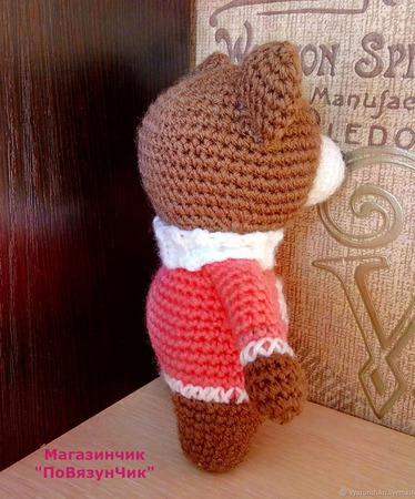 Зимний мишка ручной работы на заказ
