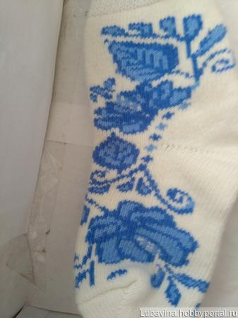 Носки шерстяные женские ручной работы на заказ