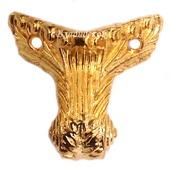 Ножки уголки коробки М-152 золото фурнитура