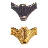 Ножки фурнитура уголки М-187 бронза золото шкатулки