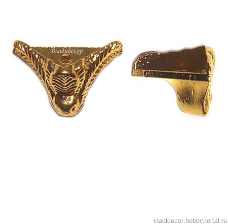 Ножки уголки коробки М-94 бронза золото серебро ручной работы на заказ