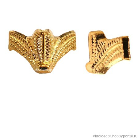 Ножки фурнитура уголки М-187 бронза золото шкатулки ручной работы на заказ