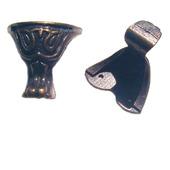 Ножки уголки шкатулки М-96 бронза
