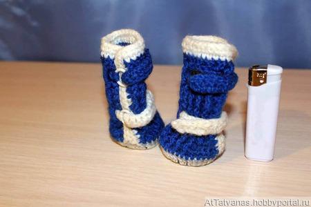 Обувь для питомца вязаная крючком, на липучке ручной работы на заказ