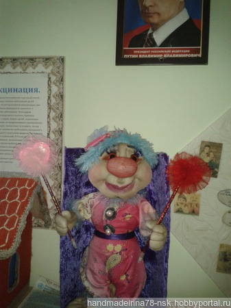 Клоун Степка ручной работы на заказ