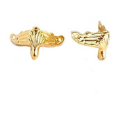 Ножки фурнитура уголки М-92 золото шкатулки