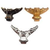 Ножки уголки фурнитура М-153 золото серебро шкатулки