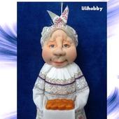 Кукла пакетница Петровна