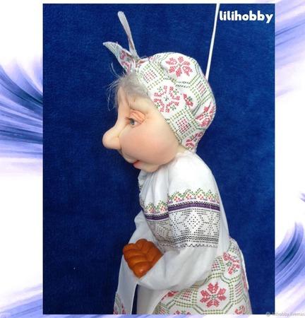 Кукла пакетница Петровна ручной работы на заказ