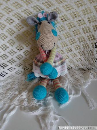 Мягкая игрушка лошадка ручной работы на заказ