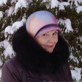 """Шляпа """"Морозный рассвет"""""""