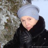 "Шляпа ""Небо декабря. Полчаса до снега"""