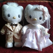 Свадебная пара Хэлло Китти