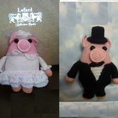 Жених и невеста свинки 4.2.4.3.1