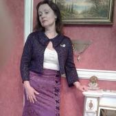 Болеро женское, вязанное спицами