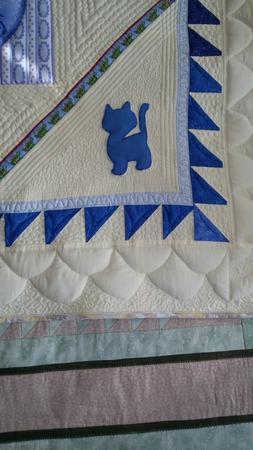 """Игровой коврик """"Котята"""" для малыша ручной работы на заказ"""