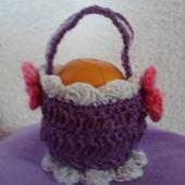 Корзинка для яиц фиолетовая Я.4.2.2.3.7