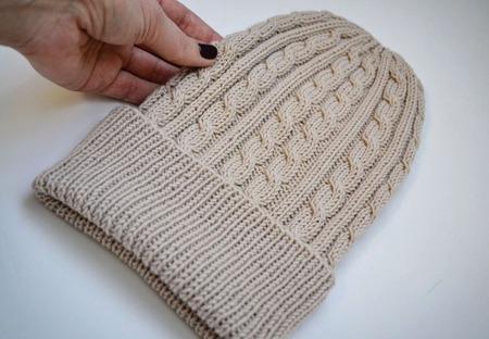 Мастер класс по вязанию шапки ручной работы на заказ