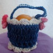 Корзинка для яиц синяя Я.4.2.2.3.6