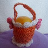 Корзинка для яиц оранжевая Я.4.2.2.3.2
