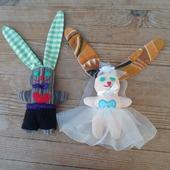 Заяц невеста Б.4.1.4.2.1.2 и заяц жених Б.4.1.4.2.1.1