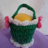 Корзинка для яиц зелёная Я.4.2.2.3.4