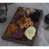 Поднос-менажница для орехов и сухофруктов