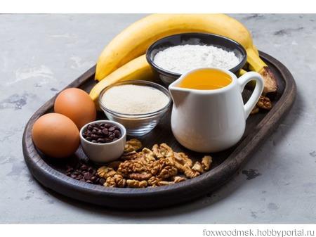 Большой поднос для завтраков ручной работы на заказ