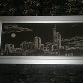 """Картина """"Ночной город"""""""