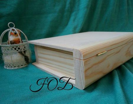 Шкатулка-книга, фолиант. Заготовка сосна, фанера. ручной работы на заказ