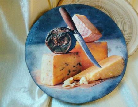 Сырная разделочная доска для  сервировки ручной работы на заказ