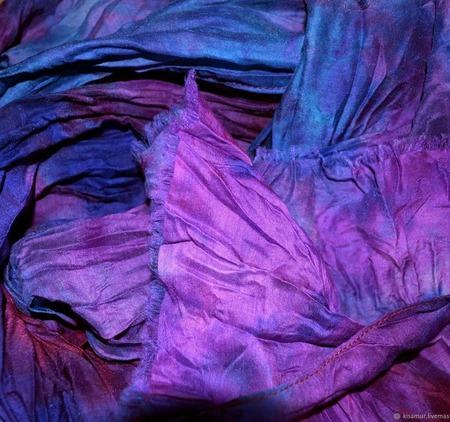 Шарф женский шерсть и шёлк ручная работа ручной работы на заказ