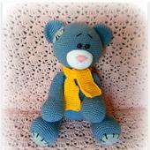 Мишка Тедди вязаный