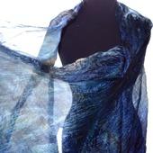 Большой шелковый шарф