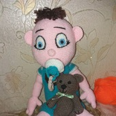 Игрушки вязаные - Малыш