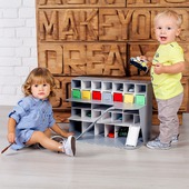 Гараж парковка для детских машинок