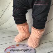 МК носки для куклы крючком