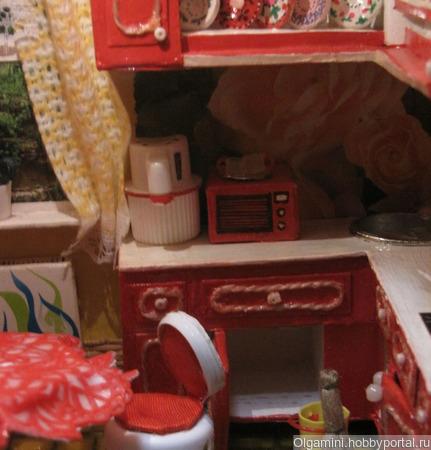 """Румбокс с подсветкой. Кухня """"Магия цвета"""" ручной работы на заказ"""