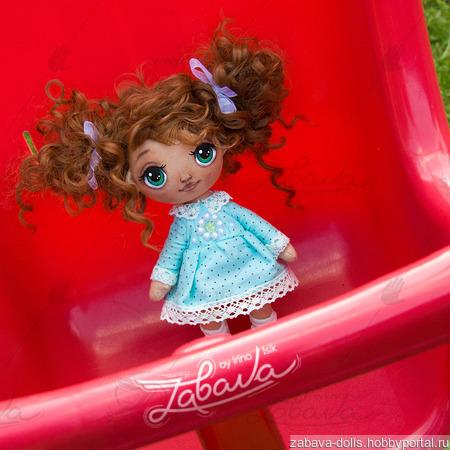 Кукла текстильная с расписным лицом ручной работы ручной работы на заказ