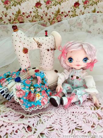 Карамельная куколка ручной работы на заказ