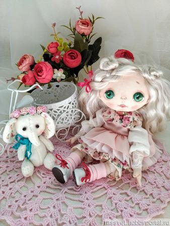 Куколка для малышки ручной работы на заказ