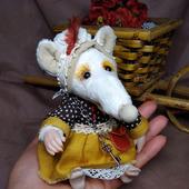 Тедди-крысонька Хозяюшка