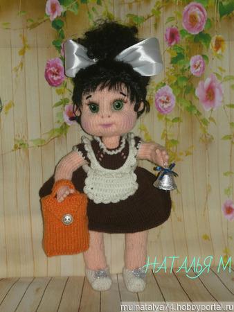 Кукла Школьница ручной работы на заказ