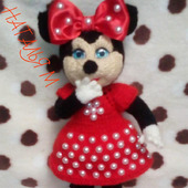 Кукла мышка Мини Маус