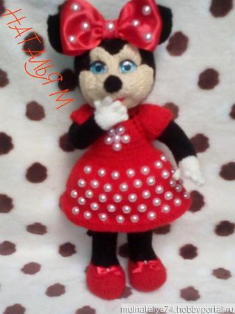 Кукла мышка Мини Маус ручной работы на заказ